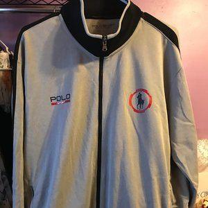 Men's Polo Sport Jacket Size XXL